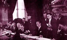 الوفد السوري في باريس في العام 1936