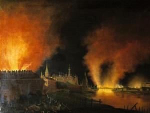 حريق الكرملين