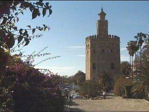 مدخل لقصر من قصور المعتمد ابن عباد
